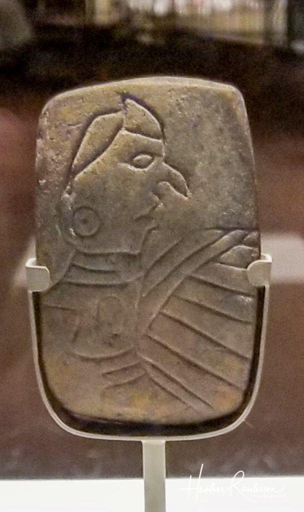 The Birdman Tablet - Cahokia Mounds Logo