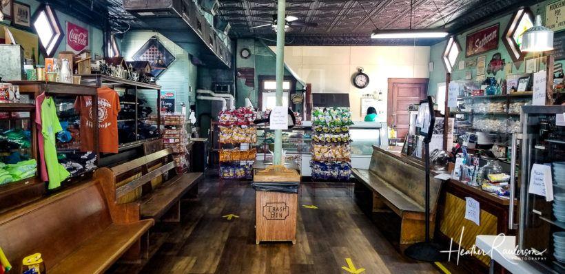 Inside the Moonshine Store
