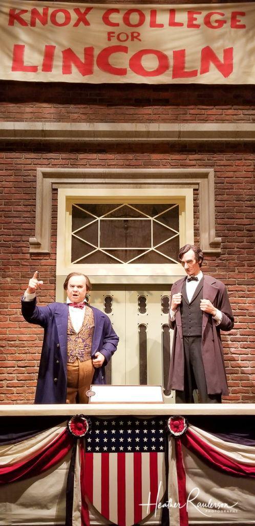 The Lincoln-Douglas Senatorial Debates at Knox College