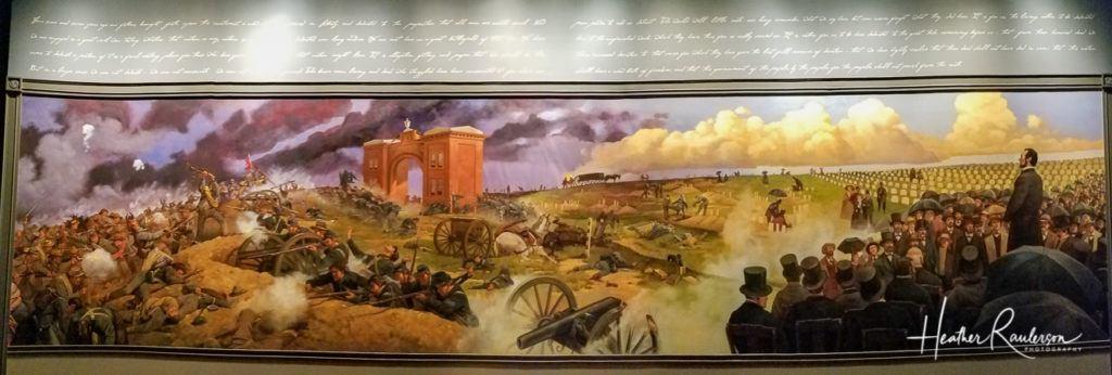 Painting of Gettysburg