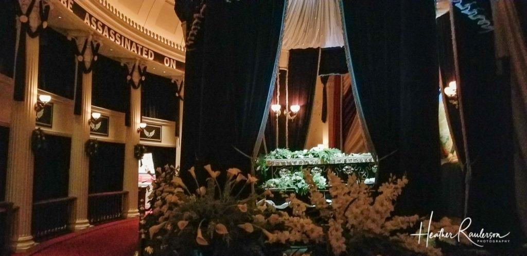 Replica of Abraham Lincoln Lying in State