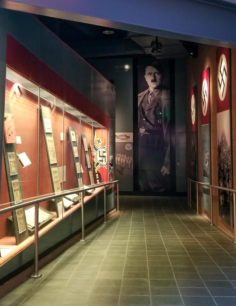 Rise of Nazism exhibit at the Holocaust Memorial Center