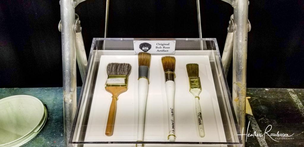 Bob Ross' Paint Brushes
