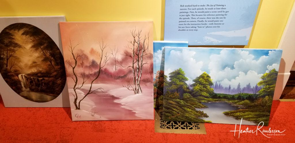More Paintings from Students of Bob Ross