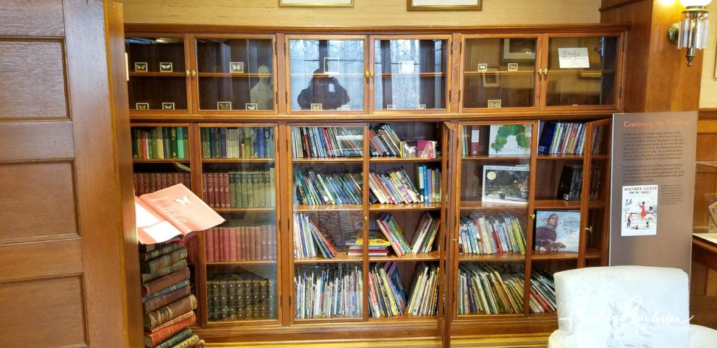 Bookcases in Oakhurst Library