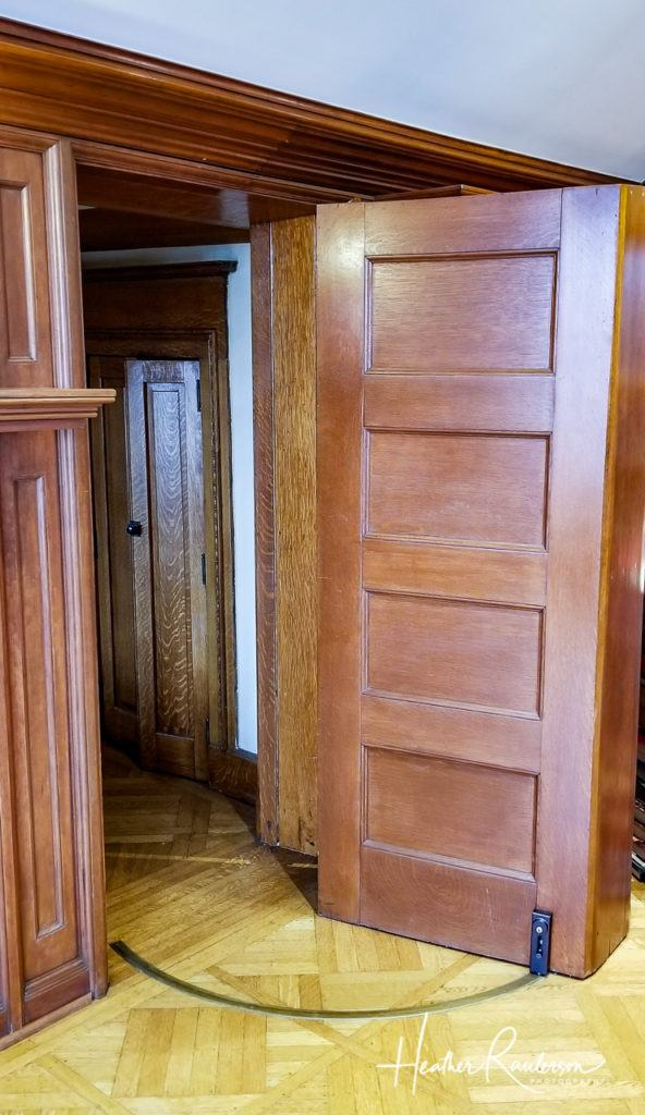 Secret Door to Sunroom in Oakhurst
