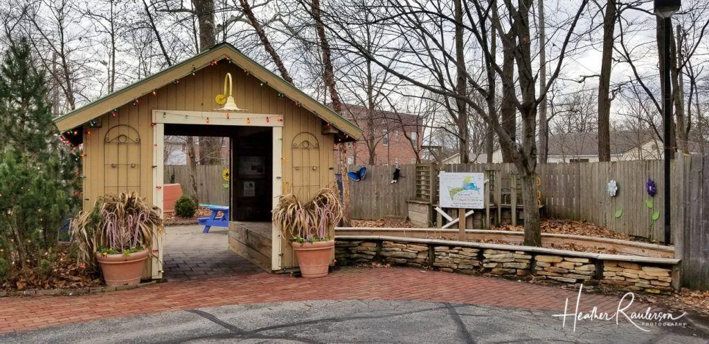 Entrance to the Backyard Garden