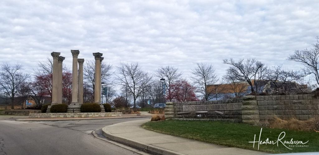 Columns at Minnetrista