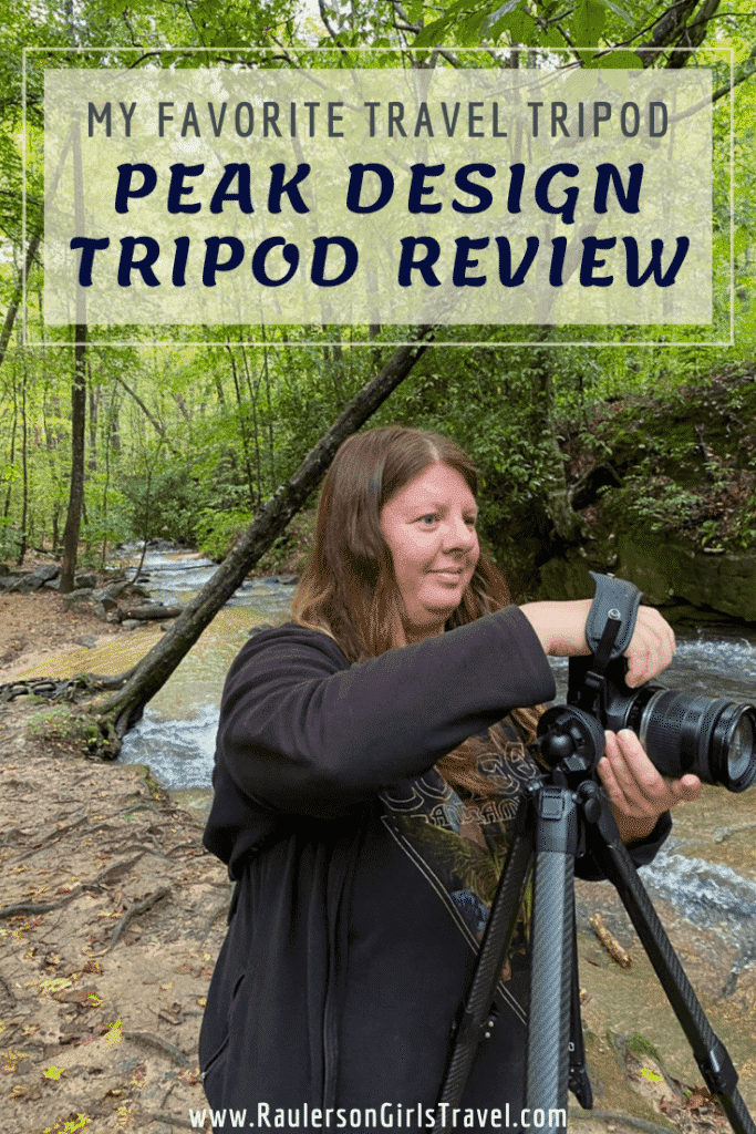 Peak Design Tripod Review Pinterest Pin