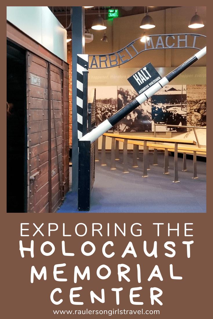 Holocaust Memorial Center Pinterest Pin