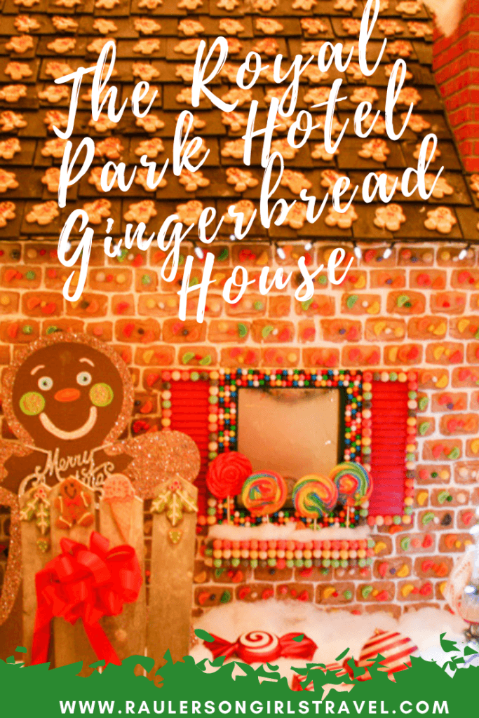 Royal Park Hotel Gingerbread House Pinterest Pin